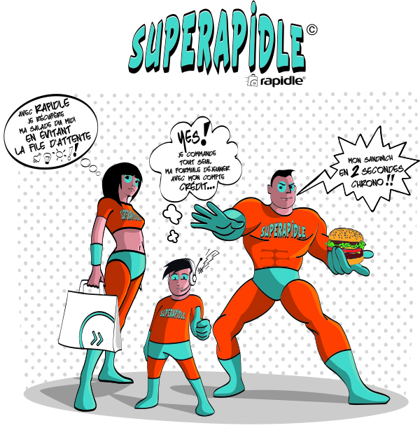 Famille Superapidle